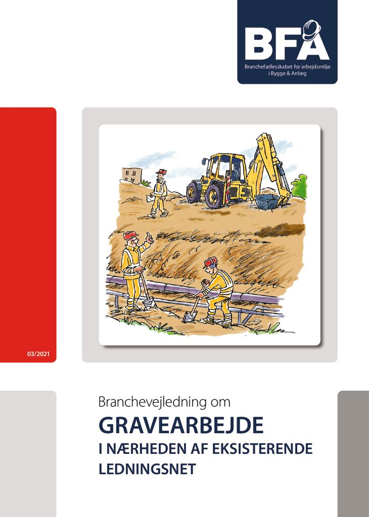 thumbnail of Gravearbejde ved eksisterende ledningsnet – print