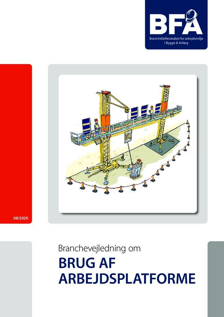 thumbnail of Branchevejledning om brug af arbejdsplatforme – print