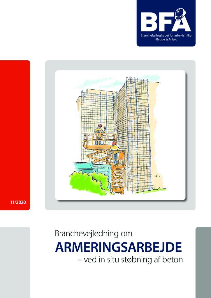 thumbnail of Branchevejledning om armeringsarbede 2020 – print