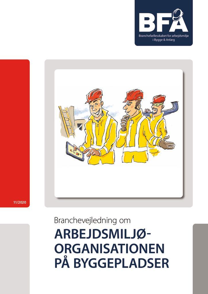 thumbnail of Arbejdsmiljøorganisationen på byggepladser – print
