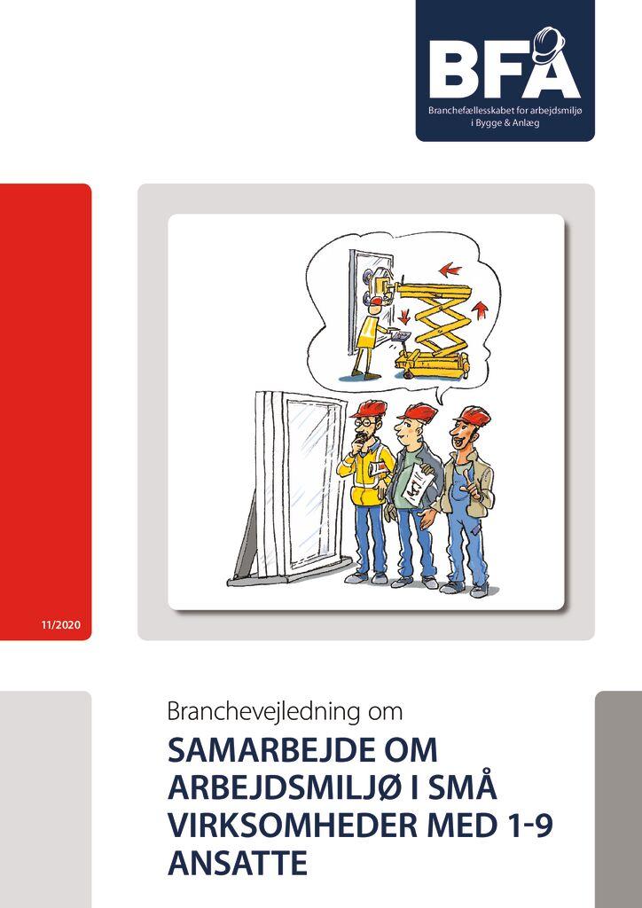 thumbnail of Samarbejde om arbejdsmiljø i små virksomheder – print