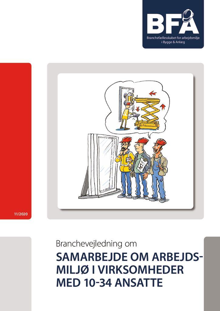 thumbnail of Samarbejde om arbejdsmiljø i virksomheder m. AMO (10-35 ansatte) – print