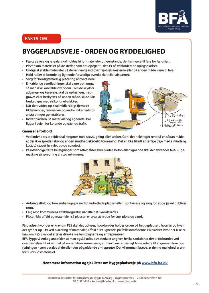thumbnail of Fakta om byggepladsveje-orden og ryddelighed – print